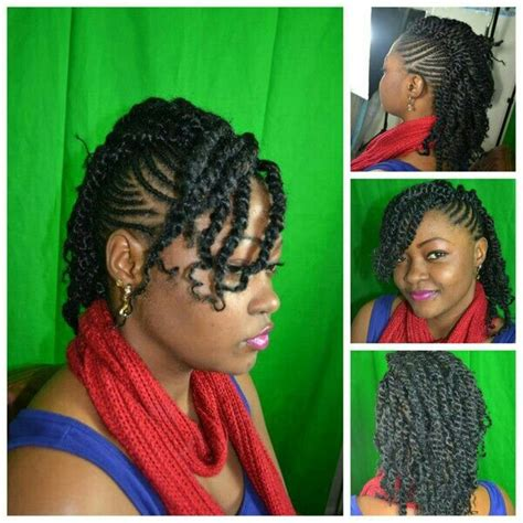 mowhawks with two strand twists down the middle 17 best images about hair styles on pinterest flat twist