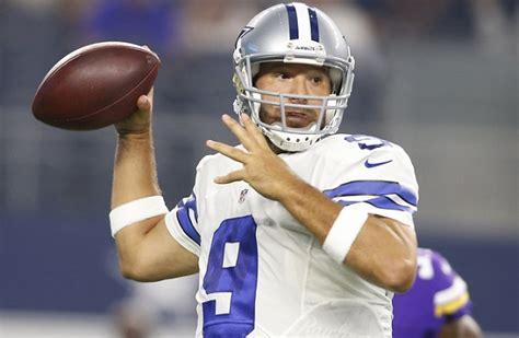 And Tony Romo by Jerry And Stephen Jones Defend Bringing Tony Romo Back