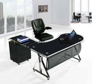 black glass office desk office desk cover glass glass