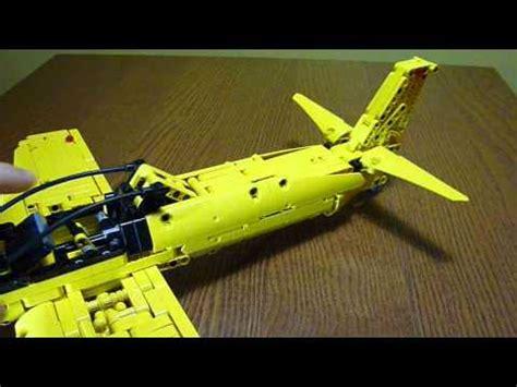 lego jet tutorial lego technic plane 9394 b model mod youtube