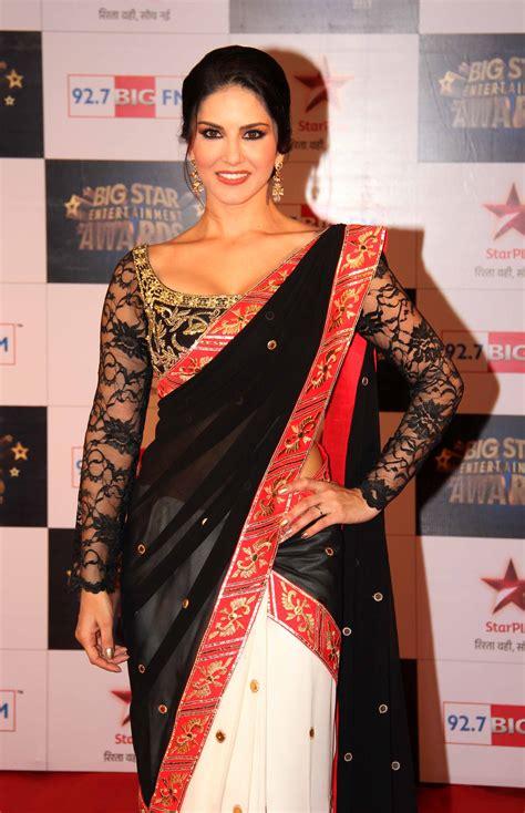 Ledlesy Plain Drapped Big Blouse 4 Net Blouse Designs Indian Fashion Mantra