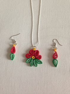 Quilling Handmade Jewelry Business 1000sbi - quilling jewelry on quilling earrings