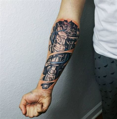 50 3d biomechanical tattoos designs and ideas 2018