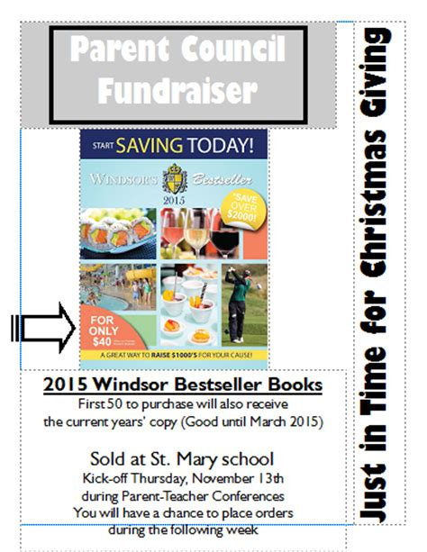Kickoff Book Report by News And Events Parent Council Fundraiser Kickoff Bestseller Books