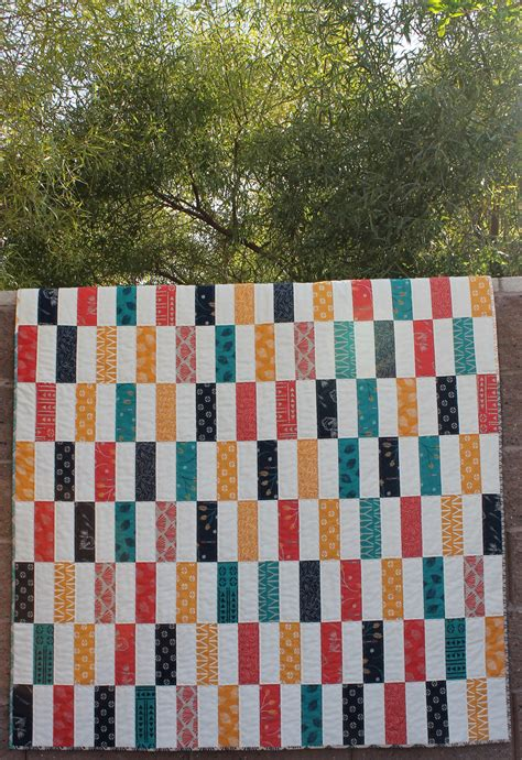 One Fabric Quilt Pattern by Simple Strips Quilt Along Part 1 Materials List And