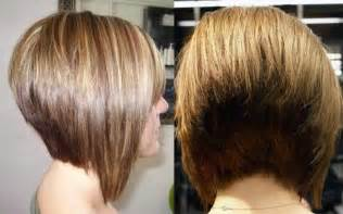 stacked haircuts for hair that show front and back short stacked bob hairstyles back view