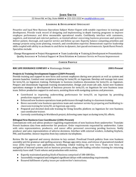 Career Development Specialist Cover Letter by Cover Letter Exles Specialist Covering Letter Exle