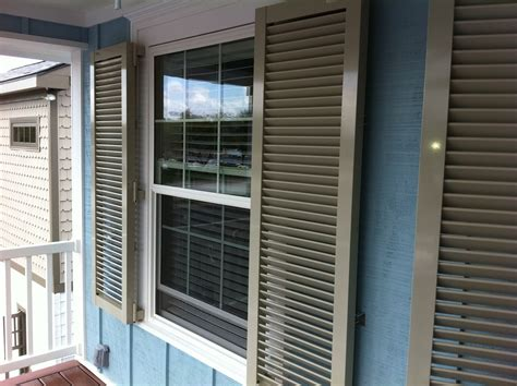 Colonial Shutters by Colonial Hurricane Shutters Aluminum Clear Protexan