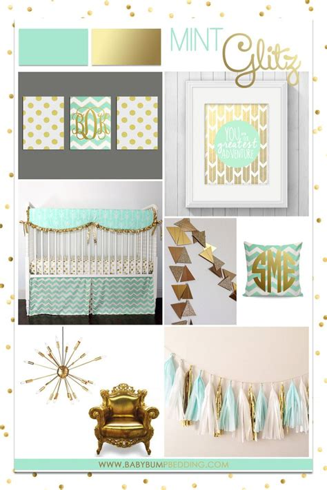 Mint Nursery Decor 25 Best Ideas About Gold Nursery On Pinterest Gold Baby Nursery Gold Nursery Decor And Coral