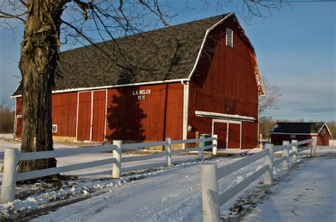 Tire Barn New Castle photos three barns in genesee county the batavian