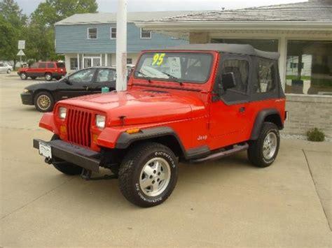 90s Jeep Wrangler 1995 Jeep Wrangler 90 S