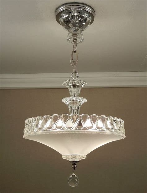 Glasses 1940s And Ceiling Light Fixtures On Pinterest 1940 Light Fixtures