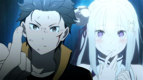 subaru and emilia married re zero kara hajimeru isekai seikatsu episode 3 review