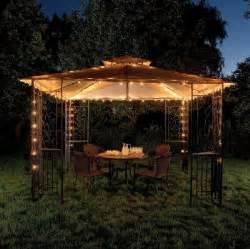 pavillon beleuchtung outdoor lighting for gazebo interior design ideas