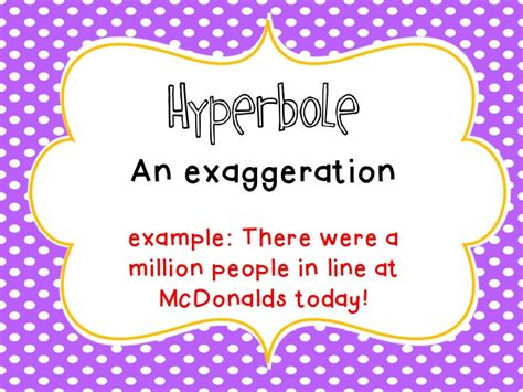printable figurative language poster figurative language is a hoot fancy free in 4th