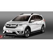 Another 2016 Honda BR V Rendering Suggesting The Design Of Upcoming 7
