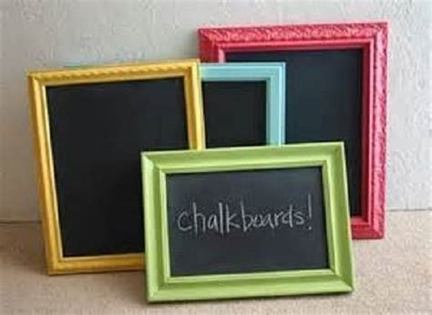 diy chalkboard from picture frame diy picture frames chalkboard picture frame