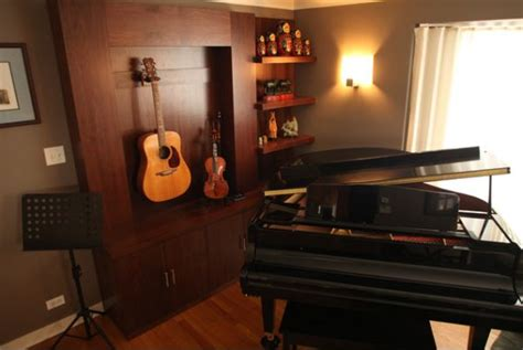 Piano Room Decor by Display Your Collection Of Musical Instruments For A Stylish D 233 Cor