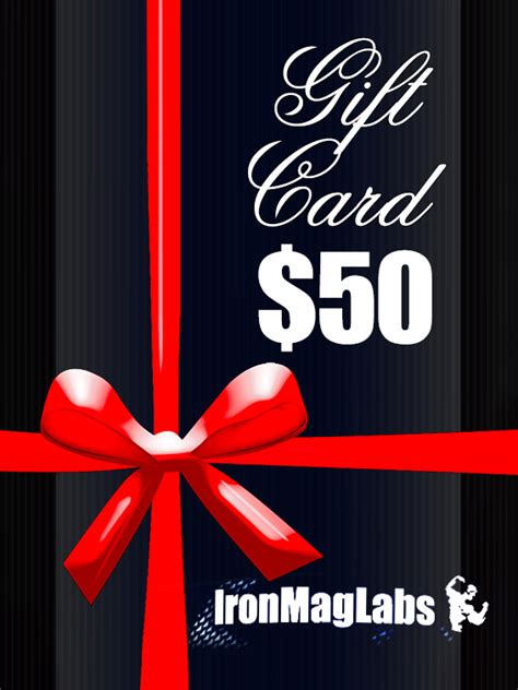 Bodybuilding Com Gift Card - gift card 50 ironmag labs bodybuilding supplements