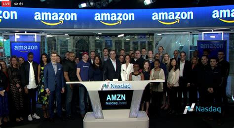 amazon nasdaq 20 years after amazon ipo here s what a 1 000 investment