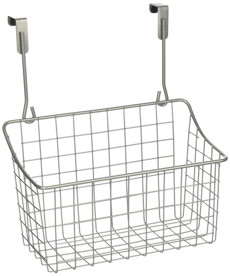 The Cabinet Door Basket by The Cabinet Door Basket Nickel In Cabinet Door