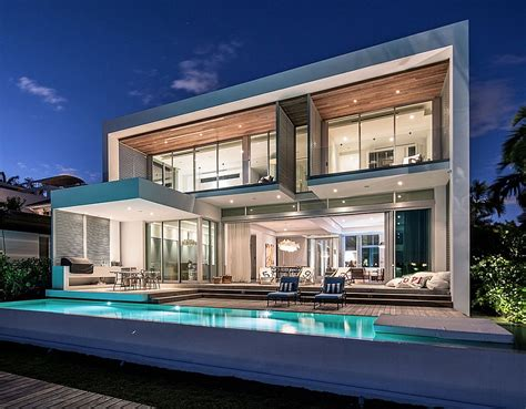 libro waterside modern lavish contemporary miami residence with a coastal flavor