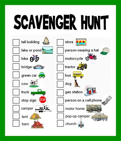 scavenger hunt ideas lists and planning hubpages