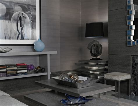 Silver Wallpaper For Living Room by Grasscloth Wallcoverings