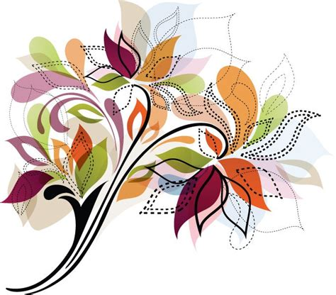 flower design element vector illustration free vector flower design element vector illustration free vector