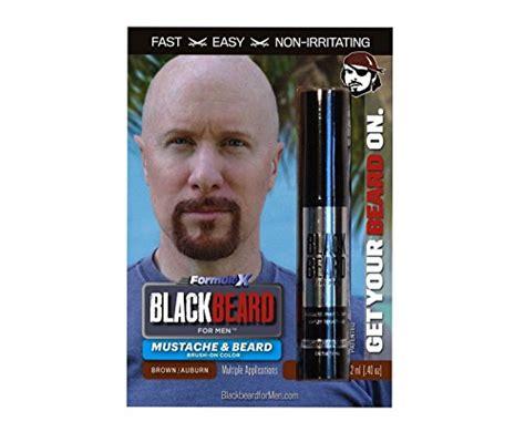 beard coloring products blackbeard for instant brush on beard mustache