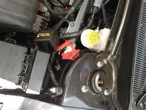 2012 Chrysler 200 Battery Location Power Wire Without Drilling