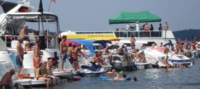 tiki boat rental lake of the ozarks mad mickys custom packages on lake of the ozarks