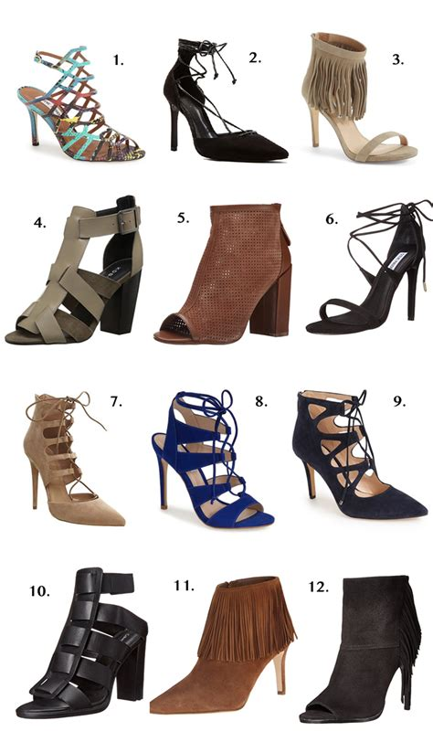 Fall Shoe Trends by Fall Shoe Trends The In The Yellow Dress