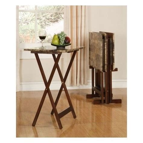 tv serving tray table tv tray table set folding portable snack dinner serving