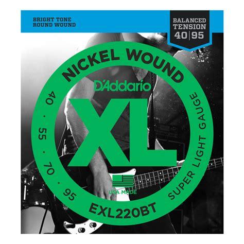 D Addario Exl 220 d addario strings xl nickel wound exl220bt