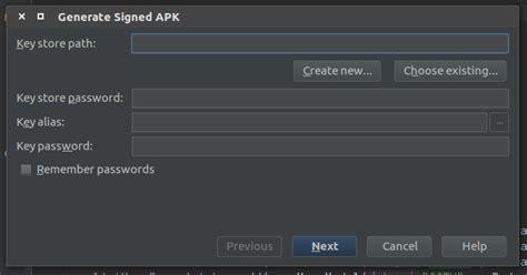 membuat apk online shop begini cara membuat keystore dan release apk untuk upload