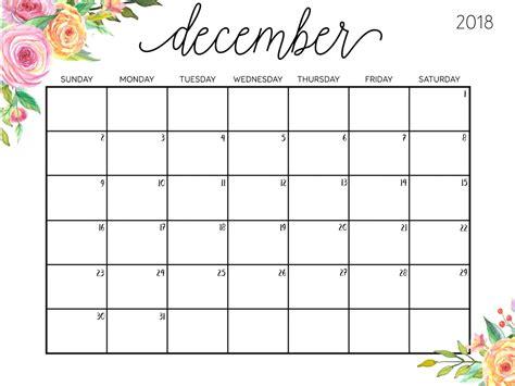 Free December 2018 Editable Calendar Download Free Printable Calendar Templates Editable Calendar Template