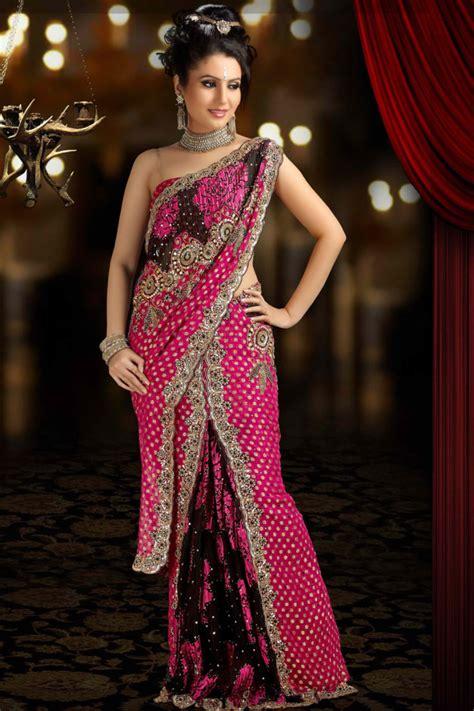fashion sarees indian saree designs 2012 wear embroidered