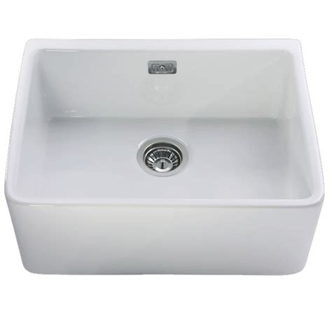 leisure kitchen sinks leisure belfast kitchen sink cbl595wh 1 bowl white