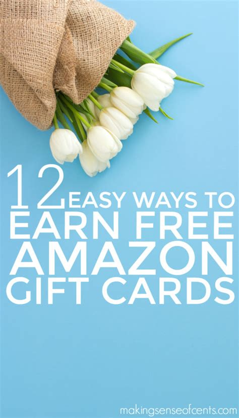 Easy Way To Get Free Gift Cards - how to earn free amazon gift cards ways to earn amazon