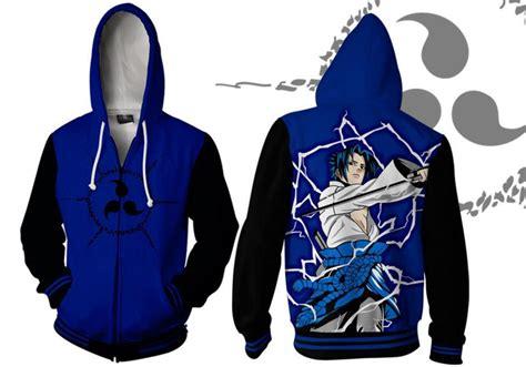 Jaket Uciha Sasuke Blue limited sasuke uchiha hoodie sweater jacket 1 pcs only ebay