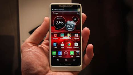 Handphone Motorola Android spesifikasi motorola razr i handphone android dengan cpu