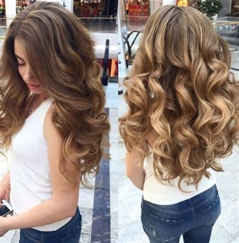 best 25 curl long hair ideas on pinterest hair waves