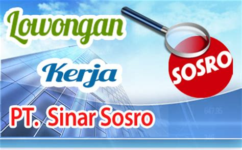 Teh Botol Sosro Palembang lowongan kerja pt sinar sosro archives karir palcomtech