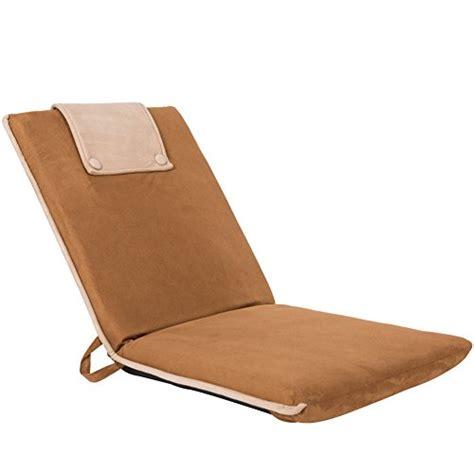 reclining floor chair sundale outdoor indoor adjustable reclining suede fabric