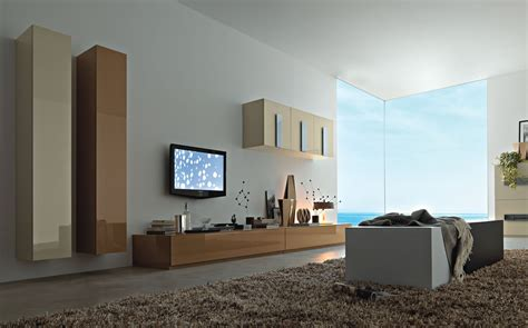 living room tv wall modern wall units from momentoitalia
