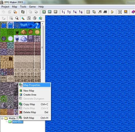 membuat game rpg tutorial membuat game dengan rpg maker 2003 bagian 3