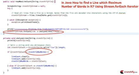 pattern delimiter java in java how to find a line with maximum number of words