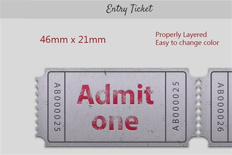 gig ticket template ticket template for gig admit two 187 designtube creative