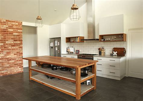 Kitchen Island Bench Designs Melbourne by Building Recycled Timber Kitchens And Heritage Renovations